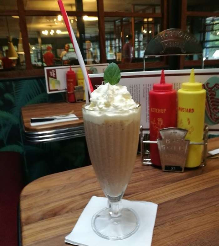 national coffee milkshake